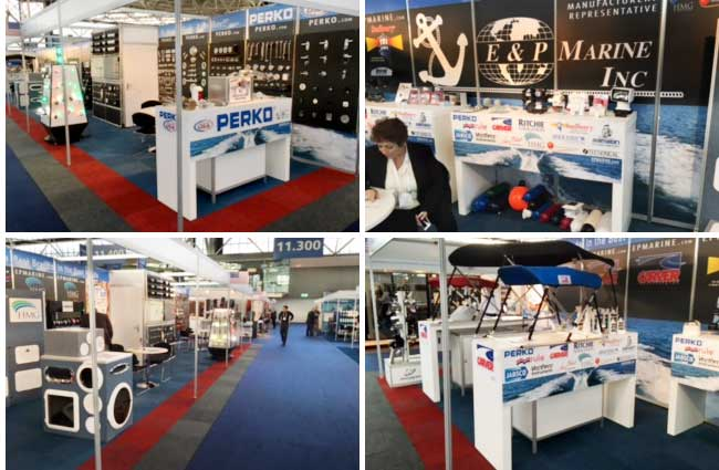 E&P Marine aisle-long stand at METS